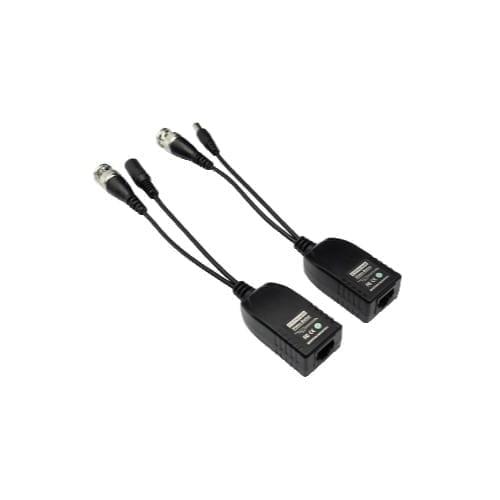 Coppia Balun AHD per trasmissione video/alimentazione su cavo Ethernet - GBC