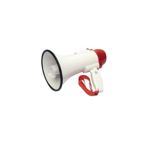Megafono a impugnatura 7W con sirena GBC