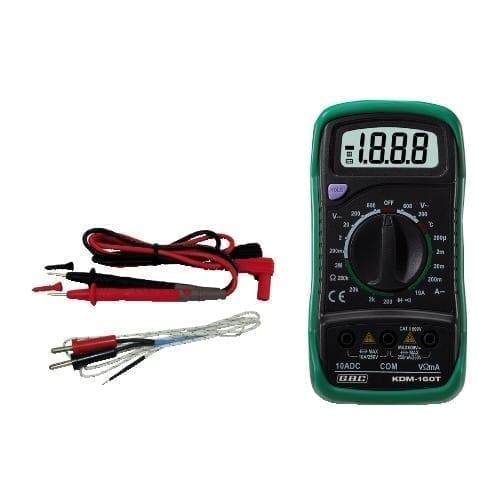 Multimetro digitale con termometro GBC
