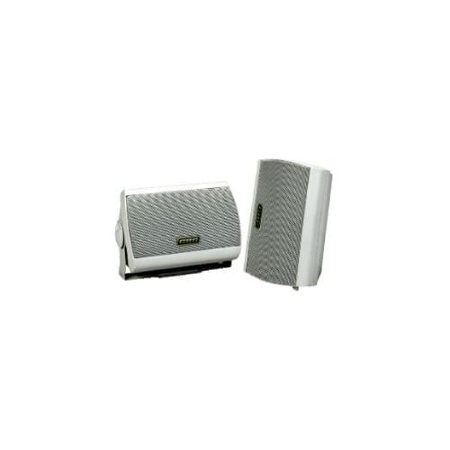 Coppia mini box 2 vie 2x45W 8 Ohm bianco GBC