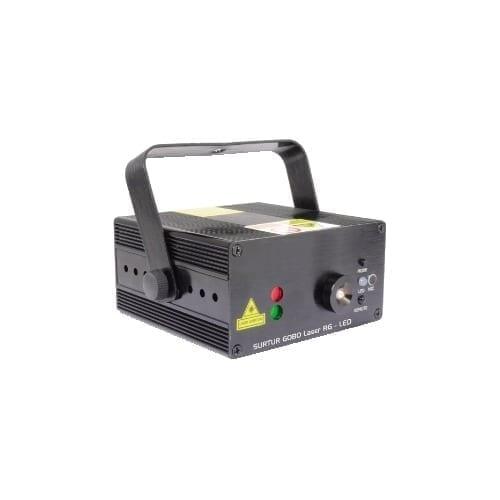 Laser rosso / verde + led BLU 3W GBC