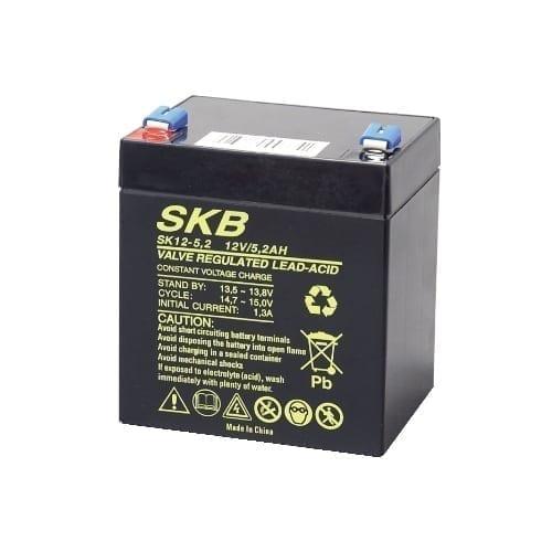 Batteria al piombo ricaricabile 12V 5,2Ah SKB