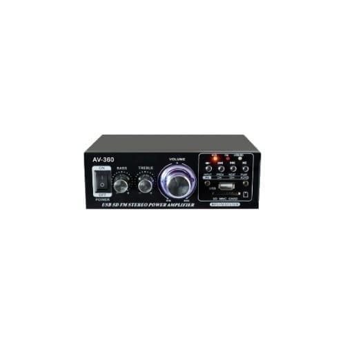 Amplificatore 2x40W con tuner GBC