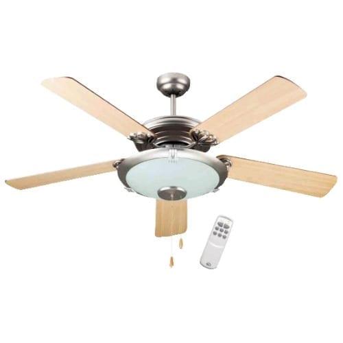 Ventilatore a soffitto acciaio 5pale GBC