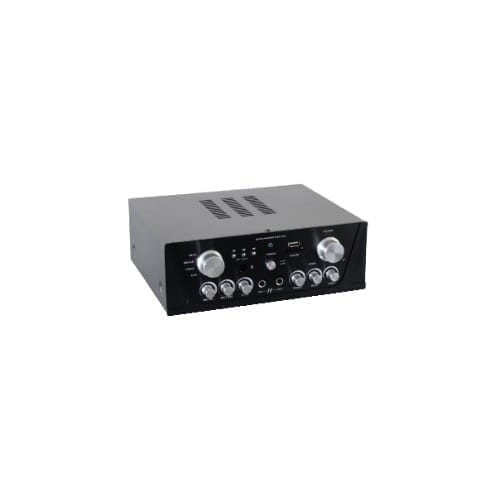 Amplificatore 2x50 con tuner / USB / SD / MP3 GBC