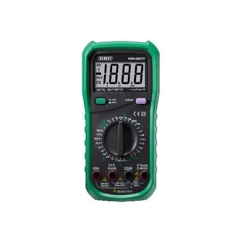 Multimetro digitale con capacimetro e termometro GBC