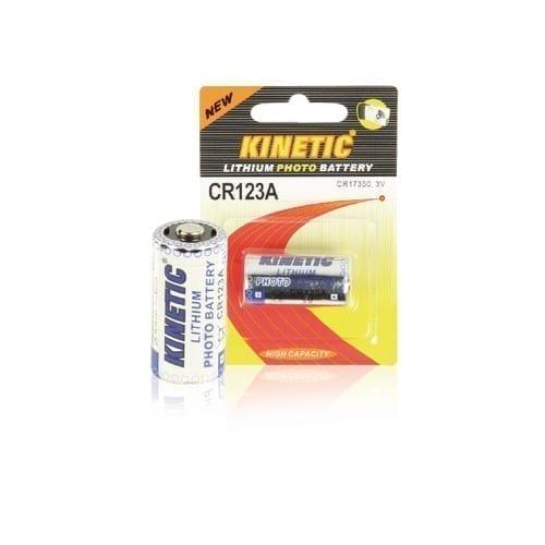 Batteria Kinetic CR123A