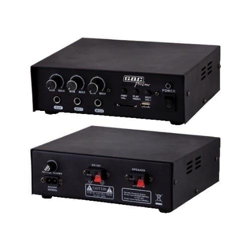 Amplificatore PA 4-8 Ohm 30W USB GBC
