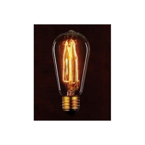 Lampada ST64 30W luce calda GBC
