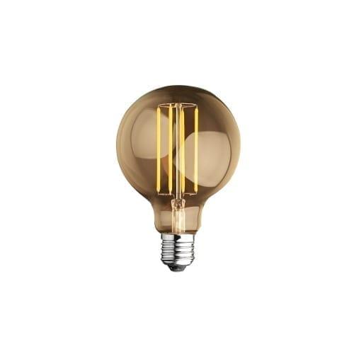 Lampada E27 4W globo luce calda Alca Power