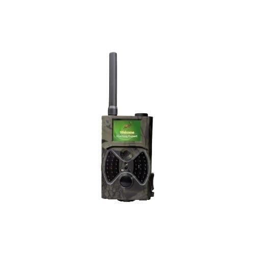 Fototrappola mimetica GSM / GPRS con DVR per registrazioni in ambienti naturali GBC