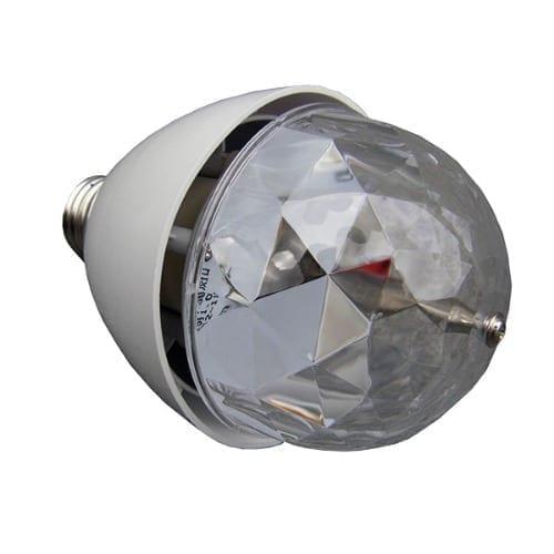 Lampada con sound control LED Monacor