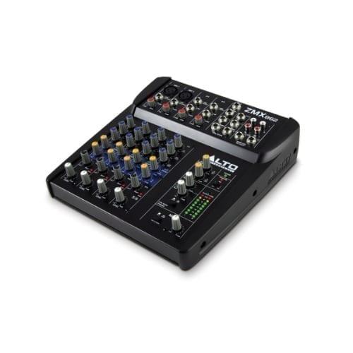 Mixer 6 canali senza effetti Alto Professional
