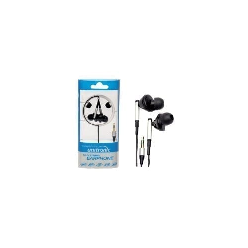 Auricolari stereo in-ear nero