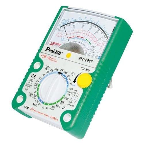 Multimetro analogico con protezione Pro'sKit MT2017