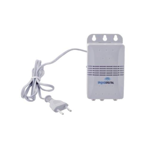 Amplificatore antenna tv da interno 2 uscite