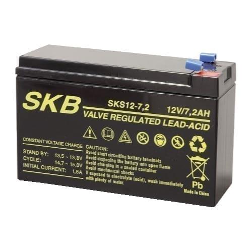Batteria al piombo ricaricabile 12V 7,2Ah SKB