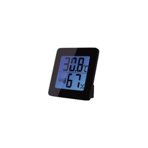 Termometro digitale da tavolo per interni con sensore di umidità e cifre di grandi dimensioni – GBC