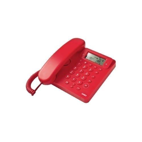 Telefono a filo con display rosso SAIET