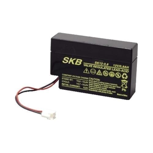 Batteria al piombo ricaricabile 12V 0,8A SKB