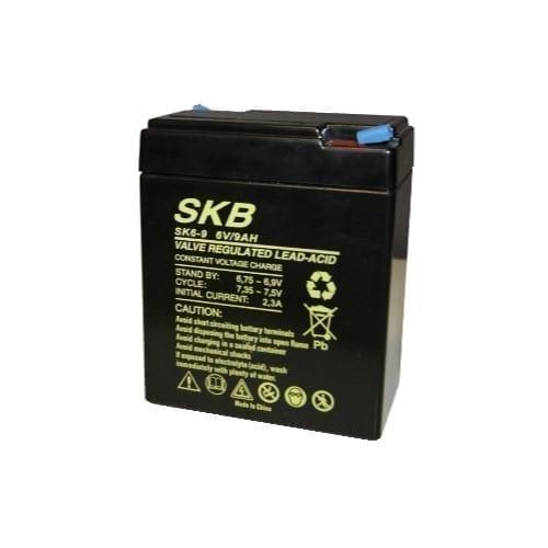Batteria al piombo ricaricabile 6V 9A SKB