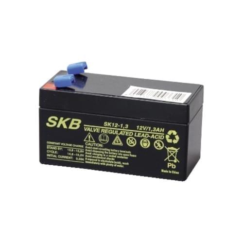 Batteria al piombo ricaricabile 12V 1,3Ah SKB