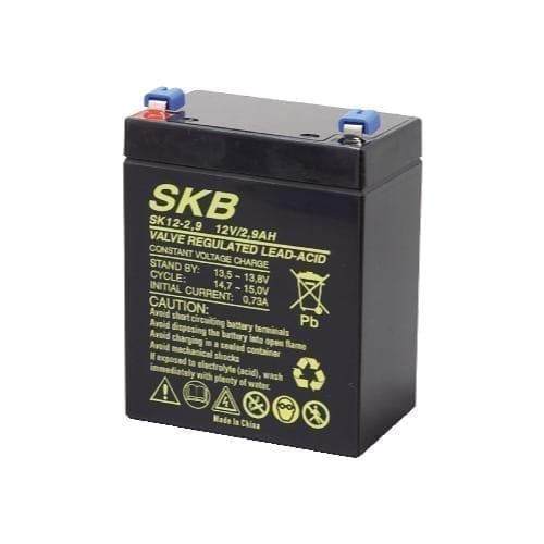 Batteria al piombo ricaricabile 12V 2,9Ah SKB