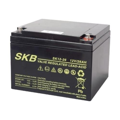 Batteria al piombo ricaricabile 12V 26Ah SKB