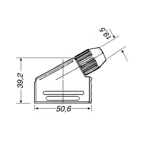 Spina SCART 21 poli a saldare GBC