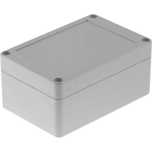 Contenitore di plastica 120 x 80 x 55 mm Grigio Chiaro