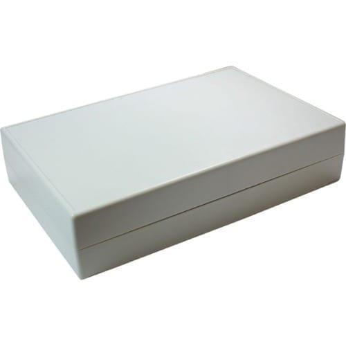 Contenitore di plastica 220 x 145 x 50 mm grigio
