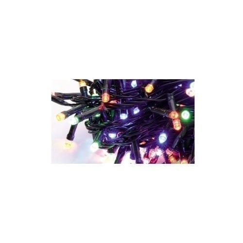Catena 126 LED lampeggianti per alberi 1,5mt multicolor uso esterno