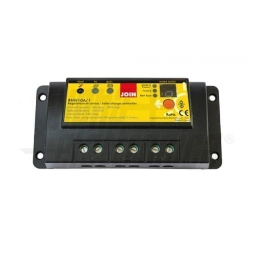 Regolatore di carica per pannelli solari 10A Alpha Elettronica