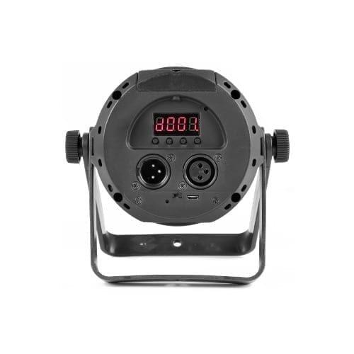 Faretto a LED UV strobo a batteria DMX con telecomando GBC