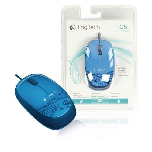 Mouse blu Logitech m105