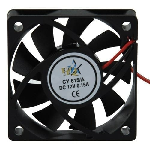 Ventola 60x60x15mm 12VDC Nedis