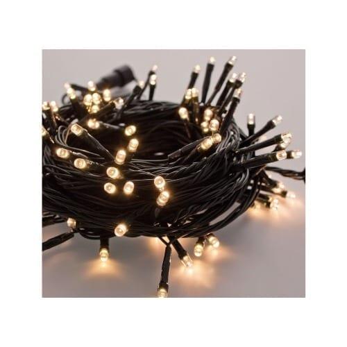Catena 40 LED lampeggianti 3mt luce calda GBC