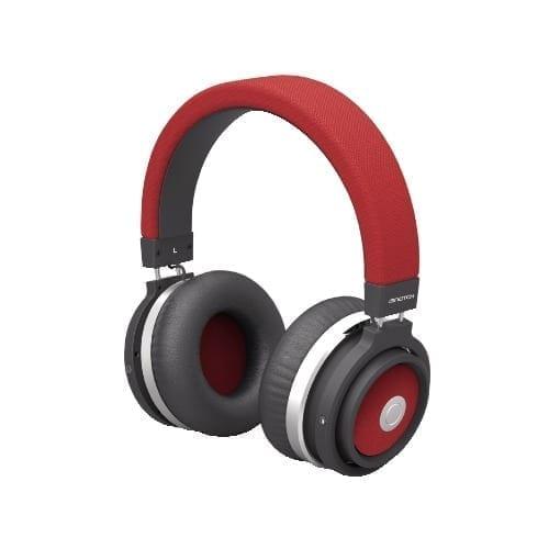 Cuffia Bluetooth in tessuto Rossa Isnatch