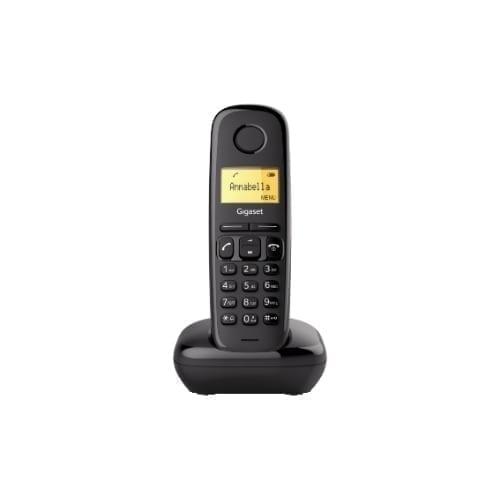 Telefono cordless Gigaset A-170 Nero