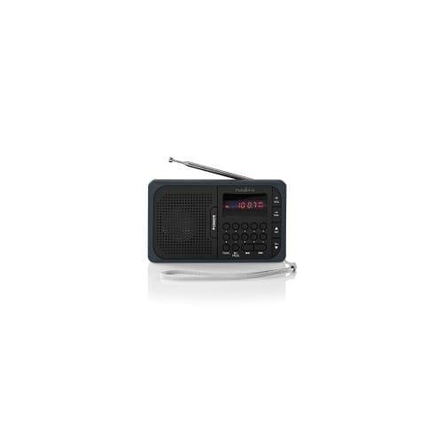 Radio 3,6W con USB / micro SD Nedis