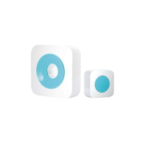 Campanello senza fili bianco/ azzurro iSnatch