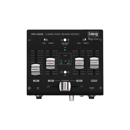 Mixer Monacor 2 Canali MPX-20 USB