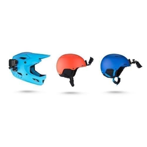 Supporto GOPRO frontale e laterale per casco