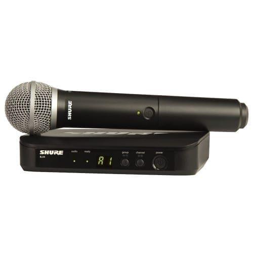 Radiomicrofono a gelato Shure BLX24 + PG58