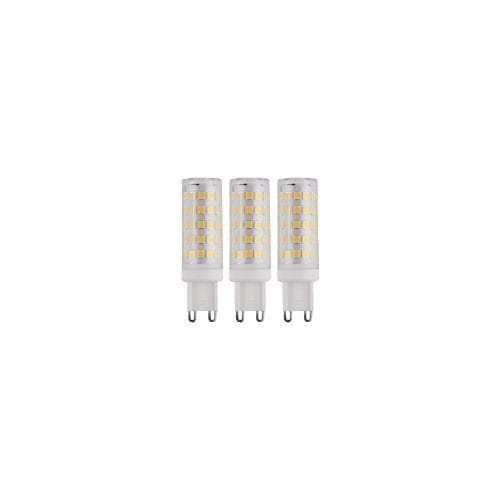 Kit 3 lampadine LED G9 luce calda