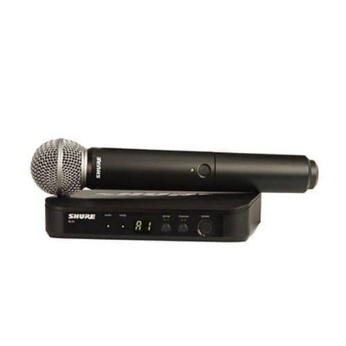 Radiomicrofono a gelato Shure BLX24 + SM58