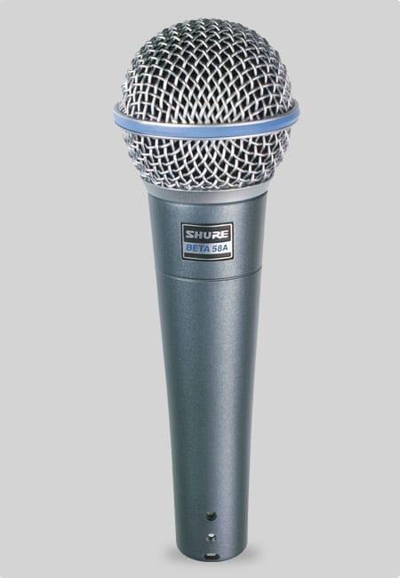 Microfono per voce Shure BETA58