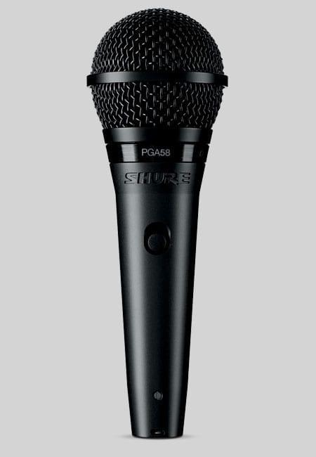 Microfono per voce Shure PGA58