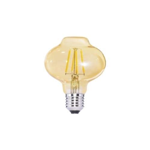 Lampada LED lanterna vetro 4W