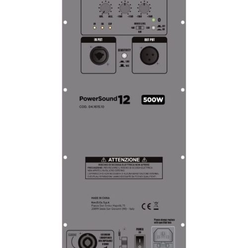 Cassa Amplificata in classe D 500W - GBC